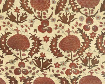 Pomegranate Trama Deep Red