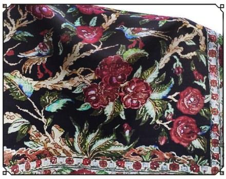 A Persian Rose (panel)