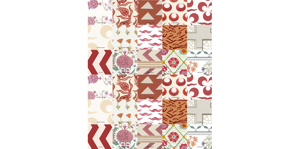 Imperial Patchwork in all over Warm