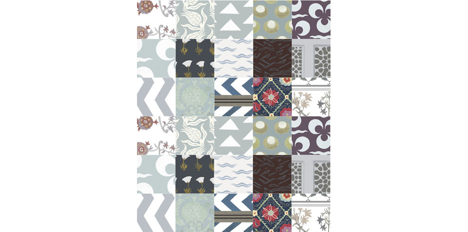 Imperial Patchwork in all over Cool
