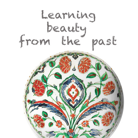 learning beauty from past