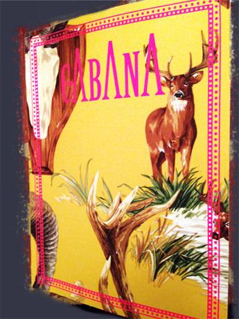 Cabana 1rst Issue  Idarica Gazzoni 's House   Thank you Cabana !