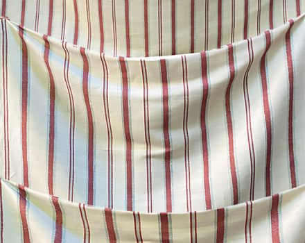 Stripes Off White and Red