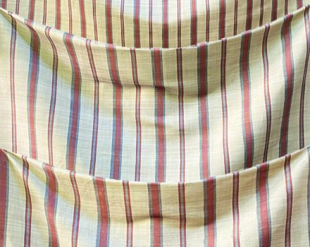 Stripes Beige and Red