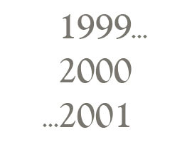 1999 2000 2001