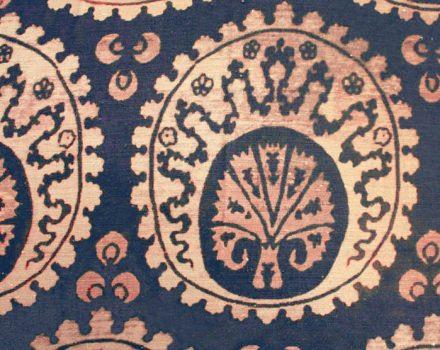 Venice Ottoman blue