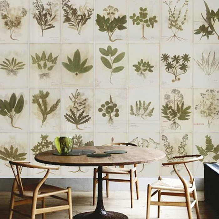 Botanica wallpaper n 3 panels