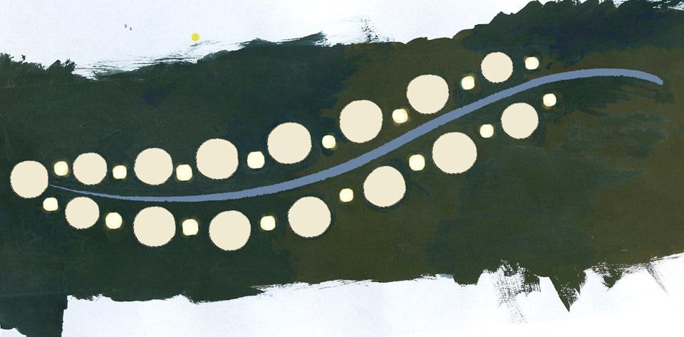 Design Greece: in memoria di una persona cara è stato creato un disegno a repeat. Tessuto stampato. - Greece Design: in memory of a loved one was created a repeat pattern. Printed fabric.