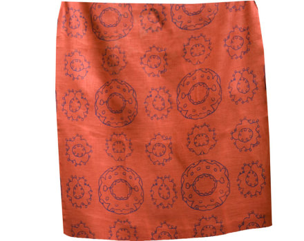 EMBROIDERED SUZANI RED