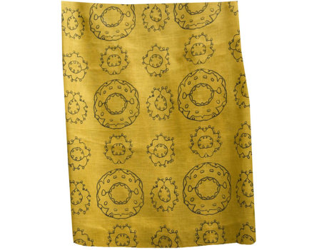 EMBROIDERED SUZANI YELLOW