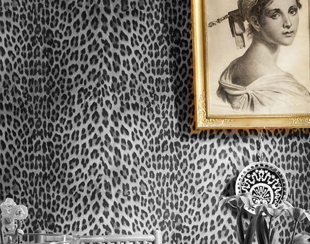 In the Leopards wallpaper