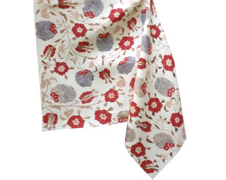 kavuk flower faded  linen