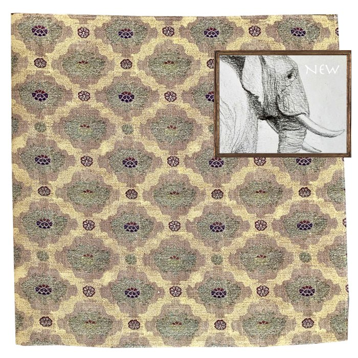 Mughal Ocra silk