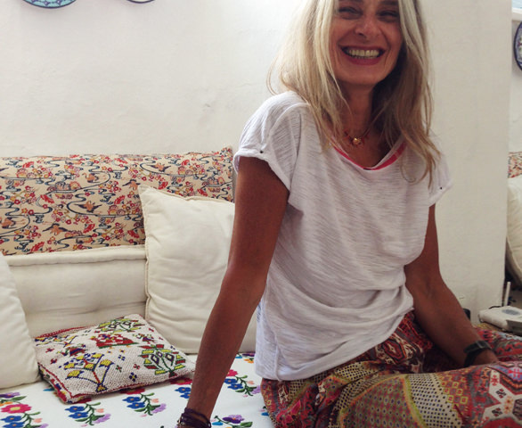 Arjumand's fabrics in Greece & ideas for Interiors