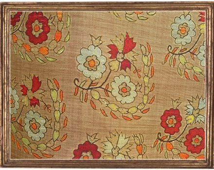 Ottoman Flower Terracotta
