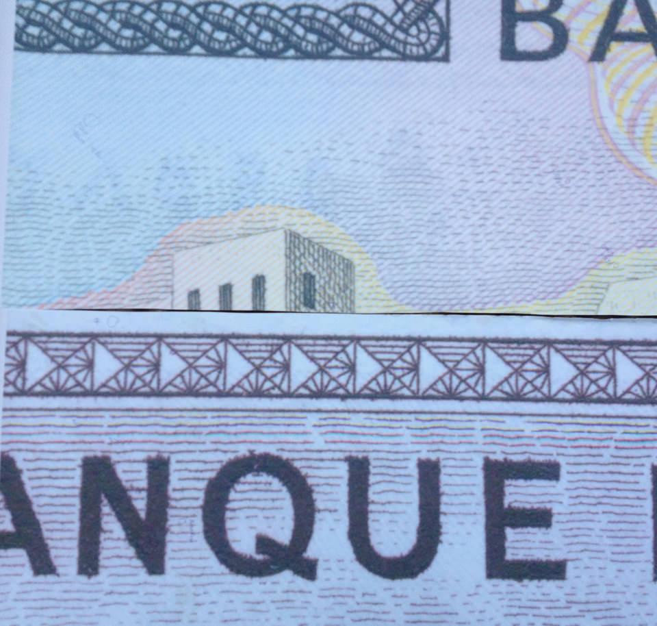 Design Banque du Liban: da una banconota degli anni '60 è stato creato un disegno per rivestimento murale per un Bar in Libano. Wallpaper. - Banque du Liban Design: from a banknote of the 60s was created a design for a wall covering for a Bar in Lebanon.
