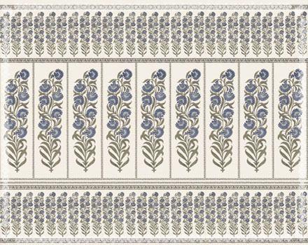 Raj Flower China Blue