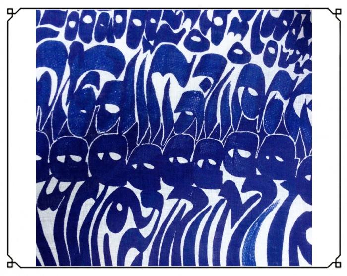 Persia Kufik Segni blue