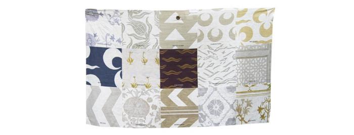 The Imperial Collection - Neutral - Lino Voile/Linen Voile - Telo Campionario/Sample Scarf