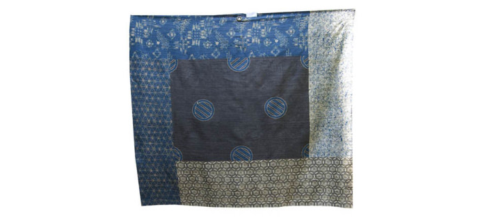 The Japan Blue Collection - Seta Tussah/Tussah Silk - Telo Campionario/Sample Scarf