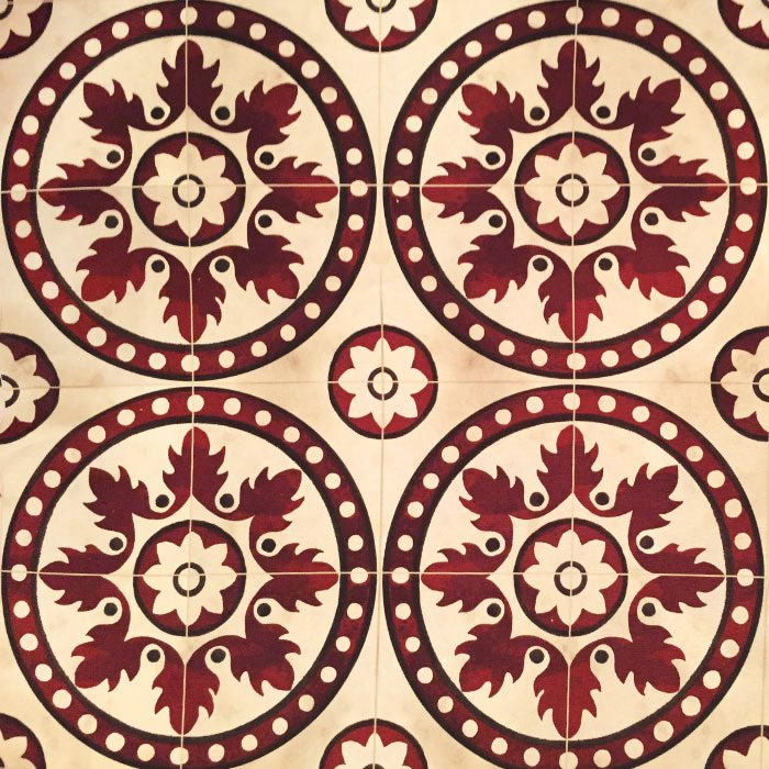 TILES RED