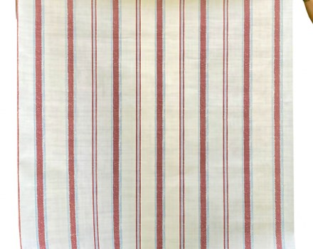Stripes in Red & Off White